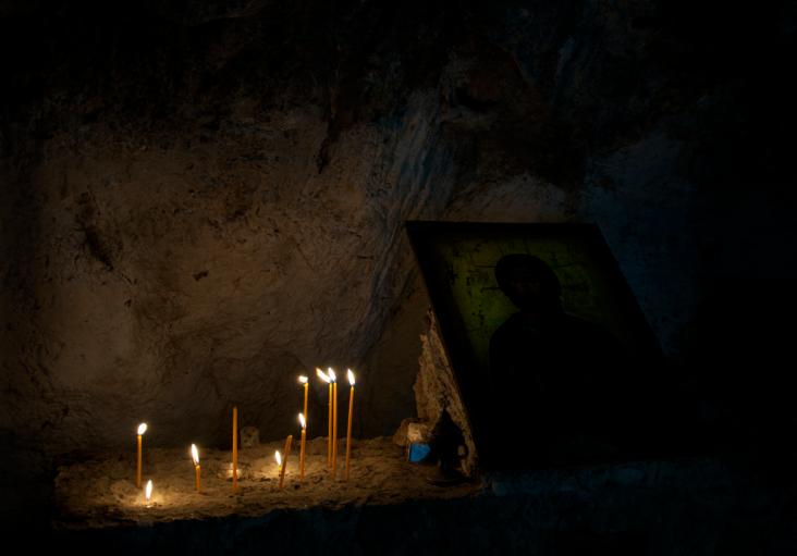 Cave church in Crete