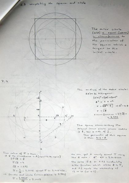 Complete squaring of the circle