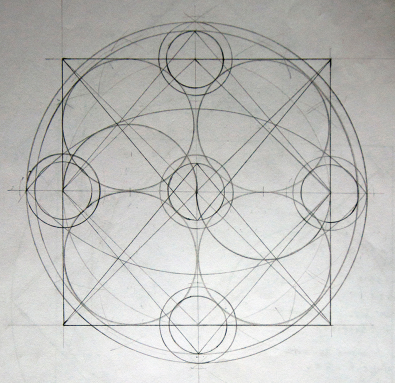 Masonic squaring the circle